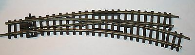 Peco St-244  Setrack  Curved Right Hand Point Turnout  Oo Gauge Unboxed
