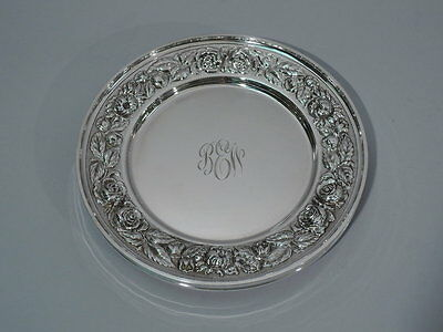 Stieff Plates - 525 - Bread & Butter Butters - American Sterling  - 1949