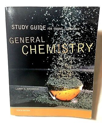 EBBING GAMMON TENTH Edition General Chemistry Textbook For
