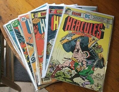 Hercules Unbound Lot Of 6 Vintage DC Comics 4 5 6 8 9 10
