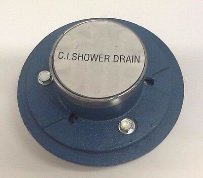 "NEW IPS AB&A 60210 ABA564 2"" Quick Set Shower Drain, Cast Iron"