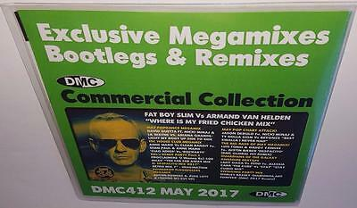 Dmc Commercial Collection 412 May 2017 Brand New 2Cd Dj Remix Service