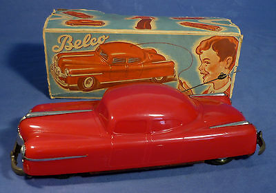 BELCO No. 500 Fernlenk Auto Bakelit OVP 50er Jahre vintage tin toy boxed B171