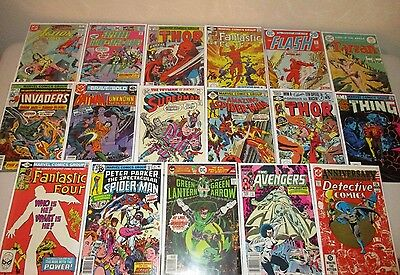 Bronze Age Comics (Lot of 51) Marvel & DC Only, Great Mix 1970s - early 80s  (7)
