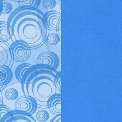 Creative Memories 10x12 INSTANT REPLAY Double-Dipped Paper - BLUE