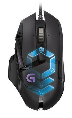 NEW Logitech - 910-004633 - G502 RGB Gaming Mouse from Bing Lee