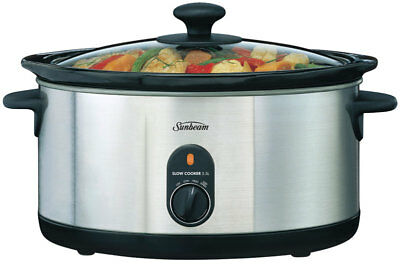 NEW Sunbeam - HP5520 - Slow Cooker 5.5L from Bing Lee