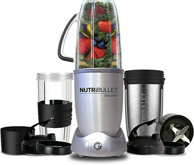 NEW NUTRiBullet 1200 Series - 12pc Set - N121207 from Bing Lee