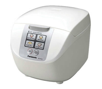 NEW Panasonic - SR-DF181WST - Rice Cooker - 10 Cups Capacity from Bing Lee