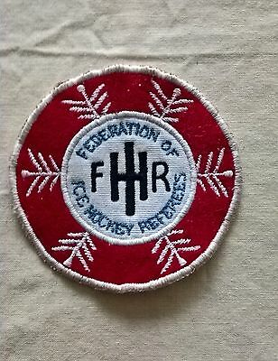 Federation of Ice Hockey Referees Patch.
