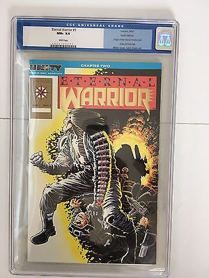 Eternal Warrior #1 Gold Edition Valiant 1992 CGC 9.6 Gold Edition White Pages