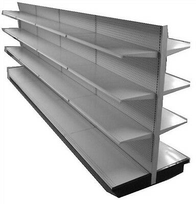 Industrial Commercial Gondola Shelving 28' Deep