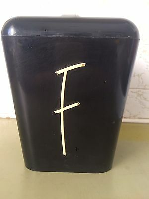 Vintage Retro Gay Ware , Nally GayWare Kitchen Canister , 50s 60s
