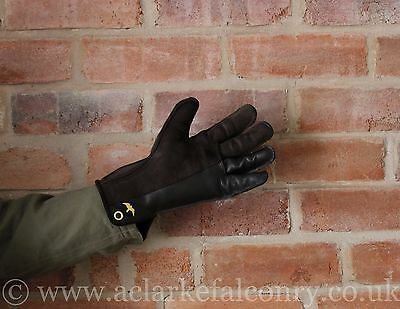 Double Thickness Falconry Glove - Made in the UK