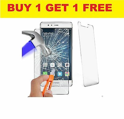 """Genuine TEMPERED GLASS Film Invisible Screen Protector For Huawei P8 Lite (5.0"""")"""