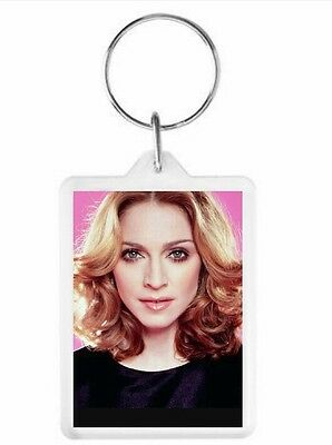 Madonna Key Ring 50 x 35mm. Donation made to Charity.