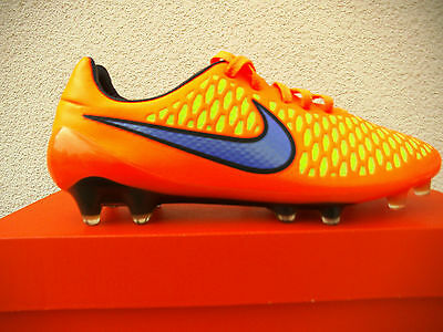 Nike Magista Opus  FG  Gr. 40  Orange - Blau - Gelb   (649230 858)   NEU