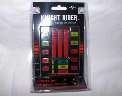 Knight Rider-K.I.T.T. USB  CHARGER 12 V mit 10 Sounds,engl. Version - Neu,OVP