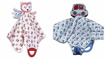 Target Baby Security Blanket Toy Teether Soother Holder - Car Owl