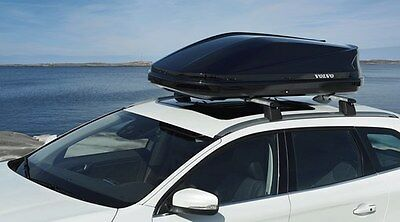 "Original Volvo Dachbox ""Sport Time 2003"" Glossy Black"