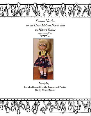 Ann Estelle 10in ~ Basic Wardrobe  ~ by Simply Grace Designs Sewing Patterns