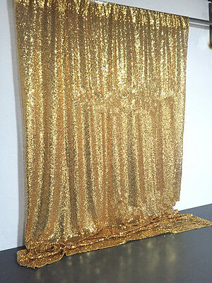 4FT*6FT Gold Sequin Photo Backdrop,Wedding Photo Booth,Photography Background……