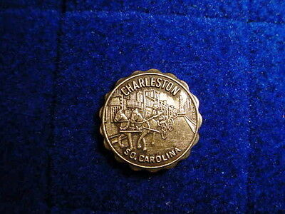 Vintage Charleston, South Carolina Lapel pin / Hat Pin