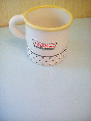 used Mugs, Krispy Kreme, donut in middle inside. Collectible.