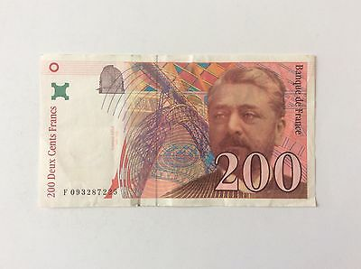 Billet français 200 F Gustave Eiffel 1999  Voir Photo