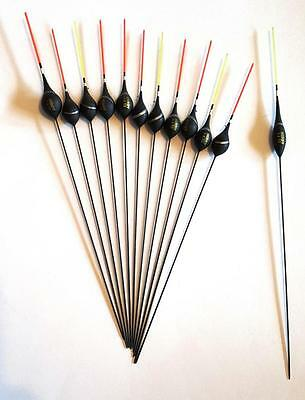 MIDDY Silvers Pole Floats x 12