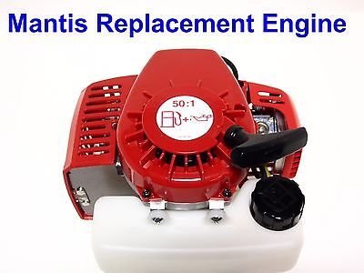 Mantis Tiller Replacement Engine #400908,  2-Cycle,  BRAND NEW,  OEM Complete