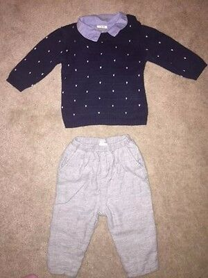Mamas And Papas Baby Boy Outfit 3-6 Months
