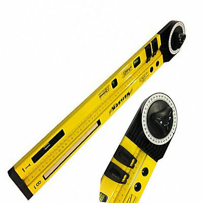 Neilsen Angle Finder Spirit Level Angles Ruler Measuring Measure Rule 0852*