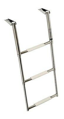 Osculati Stainless Steel Telescope Boarding ladder wide version for