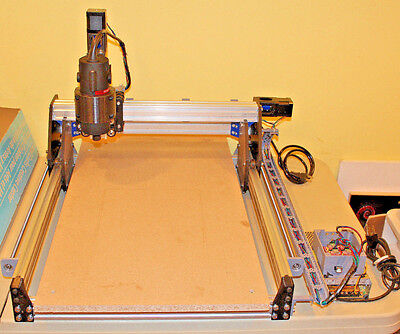 3 Axis Desktop CNC Router Engraver Engraving Milling Machine, 1.2hpa Router, NEW