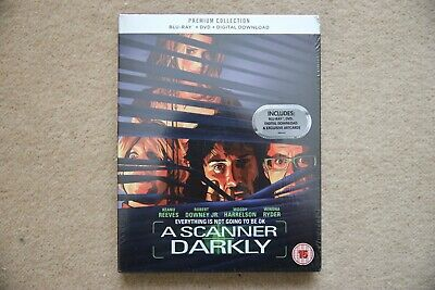 Blu-Ray   A Scanner Darkly    Premium Exclusive Edition New Sealed Uk Stock