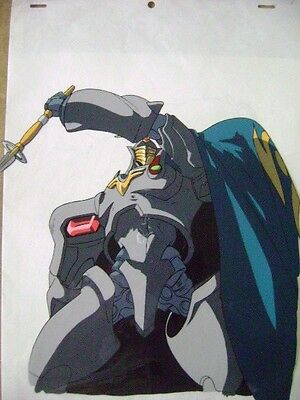 The Vision Of Escaflowne Guymelf Scherazade Anime Production Cel 4