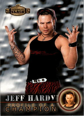 2001 Fleer WWF Championship Clash #59 Jeff Hardy PC - NM-MT