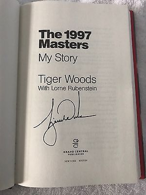 Tiger Woods signed, autographed The 1997 Masters My Story book