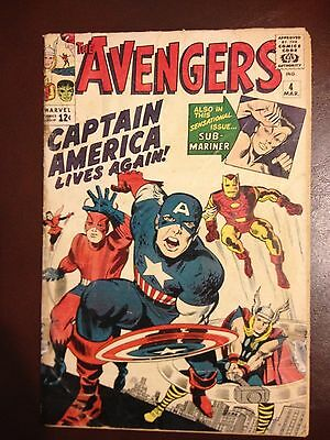 Avengers #4, Captain America's First Silver Age Appearance!  Key book