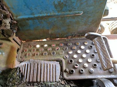 Pair Of Rear Mudguards Spares Or Repairs Removed From Fordson Super Major