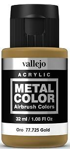 725 Gold, 32ml - Vallejo Metal Color