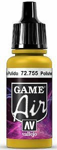 755 Polished Gold, 17ml - Vallejo Game Air