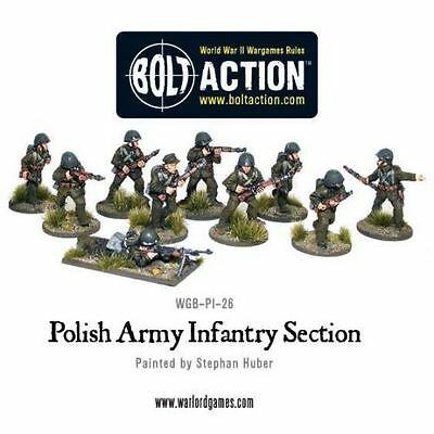 Polish Army Infantry Section (10) - Bolt Action - Warlord Games
