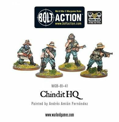 Chindit Command (4) - Bolt Action - Warlord Games