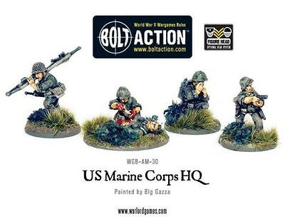 USMC Command (5) - Bolt Action - Warlord Games