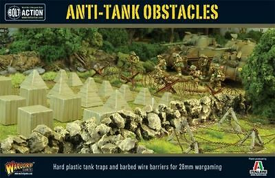 Anti-Tank Obstacles - Bolt Action - Warlord Games