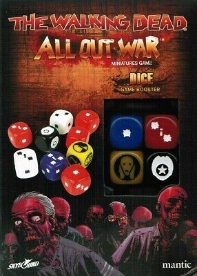 Dice Booster - The Walking Dead All Out War - Mantic Games - Miniatures Game