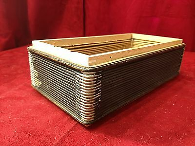 "Purple Hohner Club II Accordion Repair Part - Bellows 11.75"" x 6.25"" 18 Folds"