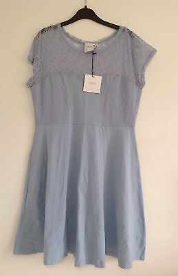Asos Maternity Pale Blue Dress Size UK 14 Brand New With Tags